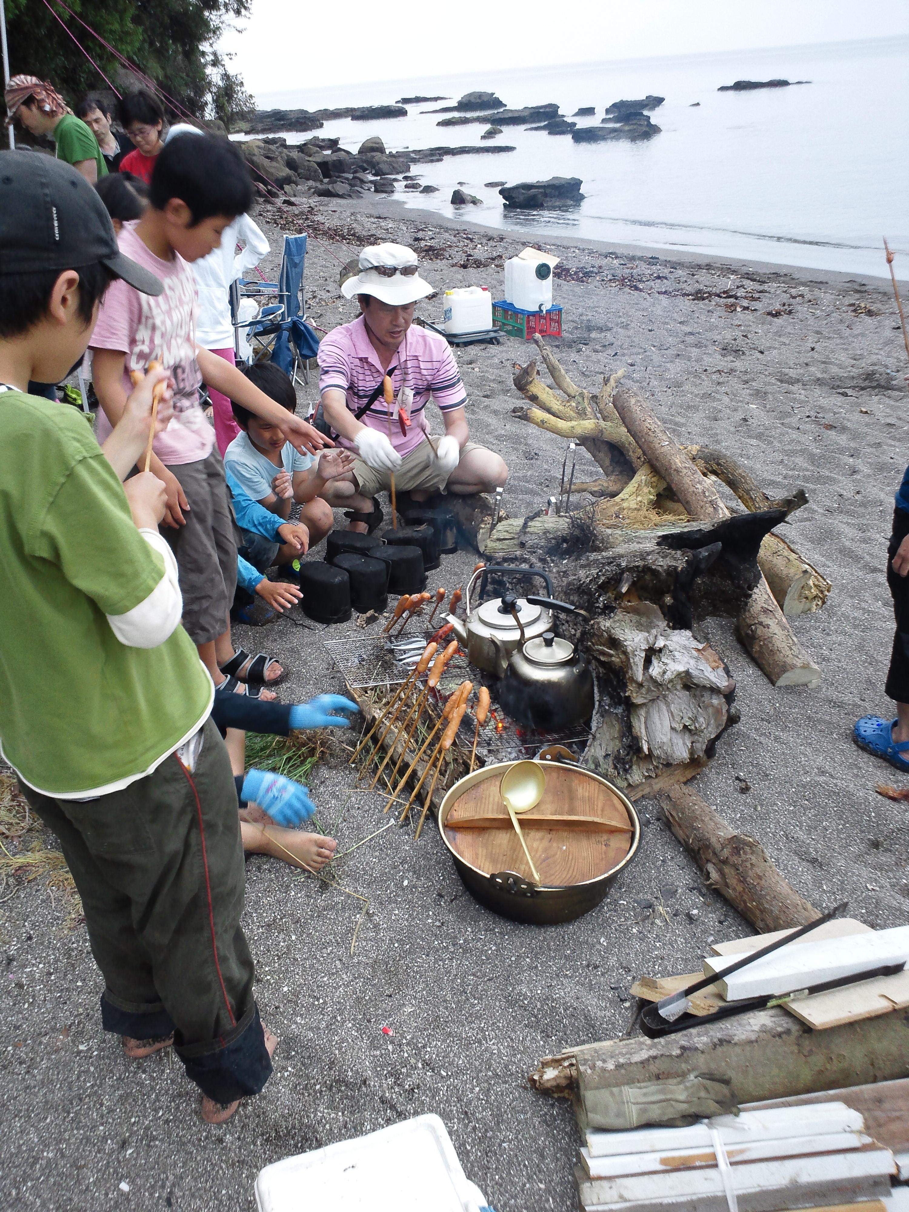 三浦海岸キャンプ